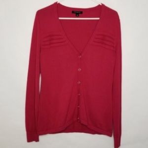 Banana Republic Womens Size Medium Sweater Red